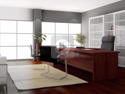 living room animation